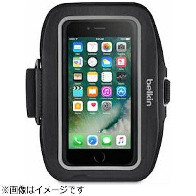 BELKIN iPhone 7 Plus用 Sport-Fit Plusアームバンド ブラック F8W794btC00[F8W794BTC00]
