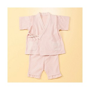 【SALE(伊勢丹)】 COMME CA FOSSETTE/コムサ・フォセット  甚平(小紋柄プリント)(2060XF04) ピンク 【三越・伊勢丹/公式】 衣服~~その他