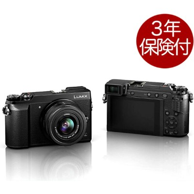 Panasonic LUMIX GX7 MarkII ブラック標準ズームレンズキット DMC-GX7MK2K-K[GX7 Mark2 Black + LUMIX G VARIO 12-32mm /...