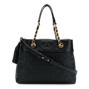 Tory Burch Fleming small tote - ブラック