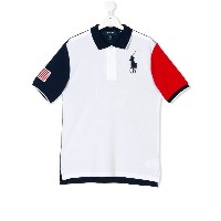 Ralph Lauren Kids TEEN polo shirt - ホワイト