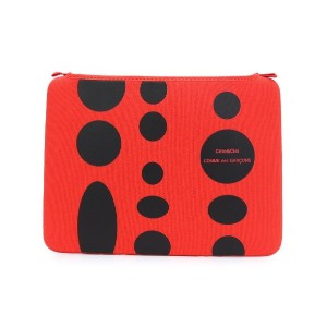 Comme Des Garçons Wallet ドット柄 PCケース - レッド