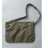 UR TRAVEL COUTURE by LOWERCASE FORCE-TYPEナイロンサコッシュ【アーバンリサーチ/URBAN RESEARCH メンズ, レディス その他(バッグ) OLIVE...
