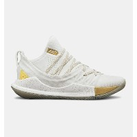 Under Armour アンダーアーマー Curry 5 (GS) 3020741 Takeover Edition カリー 5 白金 バスケット シューズ ビッグキッズ 取り寄せ商品