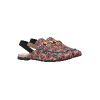 Gucci Kids Children's Princetown GG Gucci wolves slippers - マルチカラー