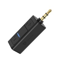 Bluetooth レシーバー、TekHome Bluetooth 受信機、Bluetooth 3.5mm、Bluetooth ハンズフリー、Bluetooth レシーバー 車載用 3.5mm...