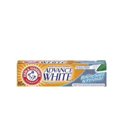 Arm & Hammer Advance White Extreme Whitening with Stain Defense Baking Soda & Peroxide Toothpaste -...