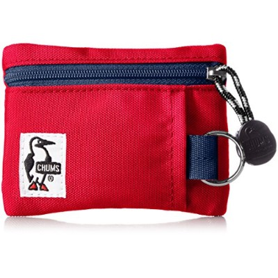 [チャムス]財布 Eco Key Coin Case Red