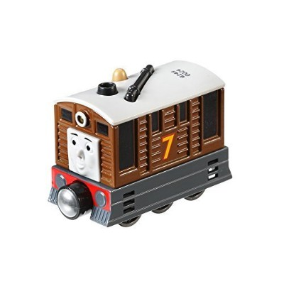 Fisher-Price Thomas The Train Take-N-Play Talking Toby Train [並行輸入品]