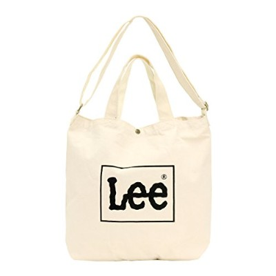 LEE リー ビッグトートバッグ 0425371 ホワイト