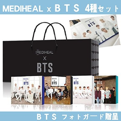 MEDIHEAL x BTS limited Special Pack Set (BTS Photo Card) Blackout Packageメディヒール x BTS防弾少年団...