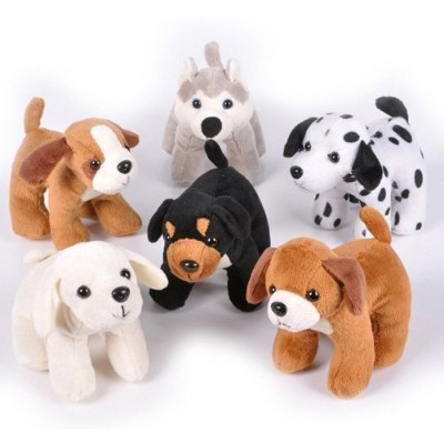 Dog Assortment - 12 per pack by SmallToys [並行輸入品]