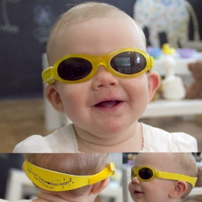 California Baby Designer Baby Banz Sunglasses by California Baby