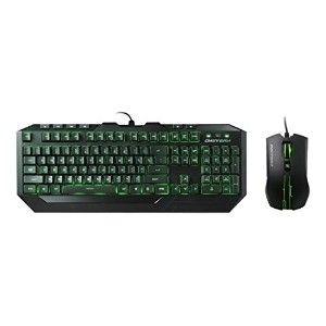 Cooler Master Storm Devastator LED Gaming Keyboard and Mouse Combo (SGB-3012-KKMF1-US) 並行輸入