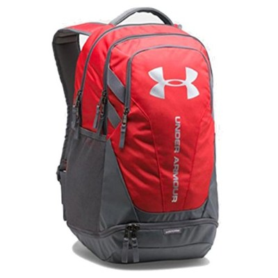 UNDER ARMOUR/ア ンダーアーマー/UA HUSTLE 3.0 BACKPACK/リュックサック / バックパック (【09】Red/Graphite)