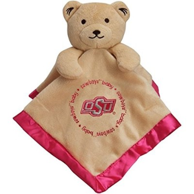Oklahoma State Cowboys Infant Bear Security Blanketピンク