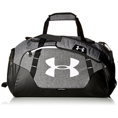 UNDER ARMOUR/ア ンダーアーマー/Undeniable Duffle 3.0 SM/ダッフルバッグ スポーツバッグ 【41L】/1300214 (Graphite/White) ...
