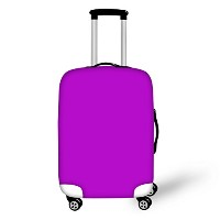 FOR U DESIGNS(JP) luggage cover protect lightweight business L purple