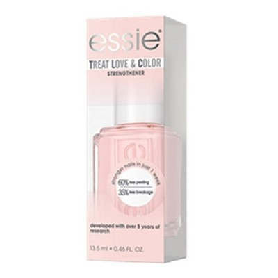 Essie Treatments - Treat Love & Color Strengthener - Pinked to Perfection - 13.5 mL / 0.46 oz