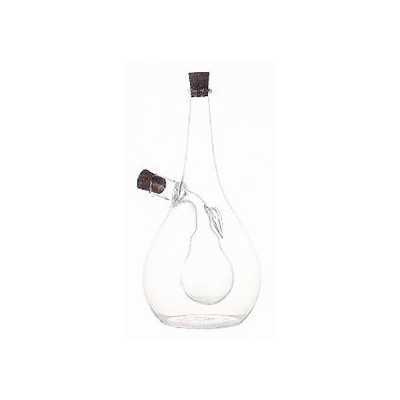 Glass pear cruet