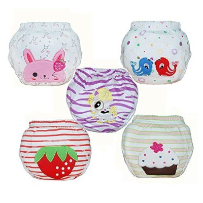 Babyfriend Baby Girls' Washable Training Pants Kids Potty Cloth Diaper Nappy Underwear TP5-001 by...