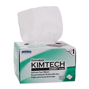 Kimberly-Clark Kimtech Science Kimwipes Delicate Task Disposable Wiper, 8-25/64 Length x 4-25/64...