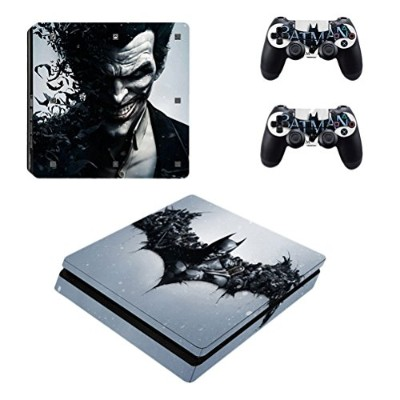 Zhuhaijq ビニル 皮膚 ステッカー 移し絵 for PS4 Slim コンソール Sticker Decal Skin + 2 Controller Skins Sticker