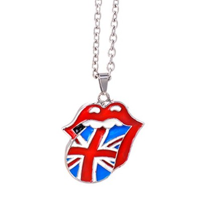 The Rolling Stones Union Jack Tongueネックレス