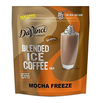 Caffe D'Amore Frappe Freeze Mocha Coffee Mix- 3 Lbs Reclosable Bag by Frappe Freeze