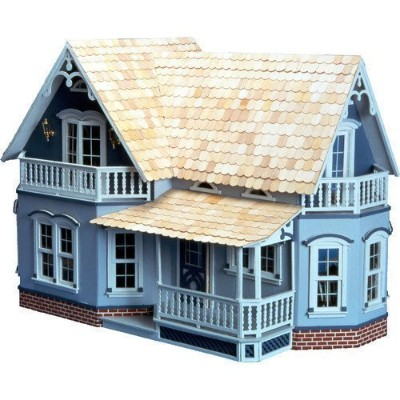 Greenleaf Dollhouses Magnolia Dollhous - Wood - Living room - Baby & Kids - indoor - doll - store...