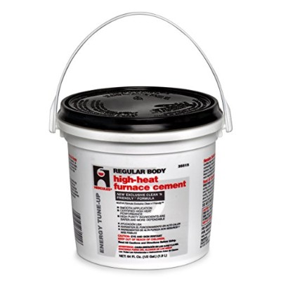 Oatey 35515 Regular Body High Heat Furnace Cement, 1/2 Gallon Bucket by Hercules