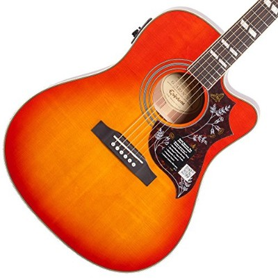 Epiphone Hummingbird Performer PRO Faded Cherry Burst エレアコギター エピフォン