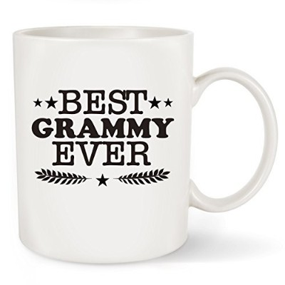(330ml, Best Grammy Ever) - Best Grammy Ever Coffee Mug Tea Cup - Funny Grammy Gifts - Perfect...