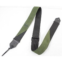Taylor Suede-Poly Strap Olive 65120 ギターストラップ