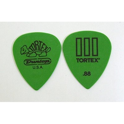 JIM DUNLOP 462 Tortex T III 0.88mm Green ギターピック×12枚