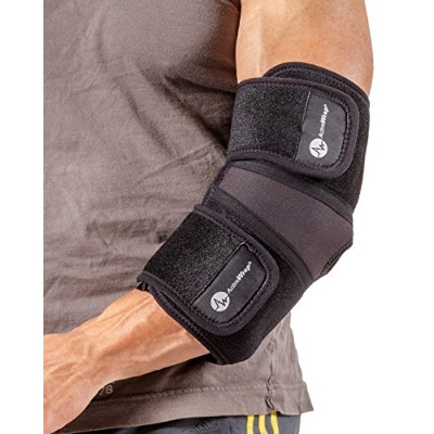 Elbow Ice/Heat Wrap (L/XL) - Includes Easy Change Ice/Heat Packs That Give Effective Elbow Compression. Alleviates Elbow Pain and Inflammation. Microwave/Freezer Ready Therapy Packs. BAWE15 By ActiveWrap by ActiveWrap