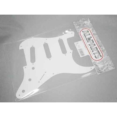 ALLPARTS No.2 Pick guard ST57 WHITE 1PLY (ストラト用ピックガード)