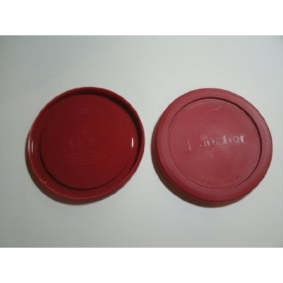 Anchor Hocking Replacement lid for 4 cup Round, set of 2 by Anchor Hocking
