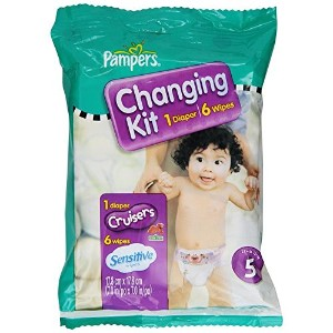 Pampers Cruisers Changing Kit, Size 5, Unscented by Pampers