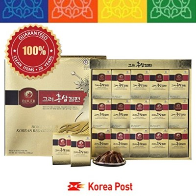高麗人参切片300g Honeyed Korean Red Ginseng Slices 300g