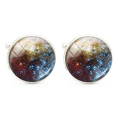 スチームパンク – Galaxy Cufflinks – ファンタジー – Outer space – Starry Nights – s15