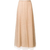 Red Valentino tulle layer a-line skirt - ニュートラル