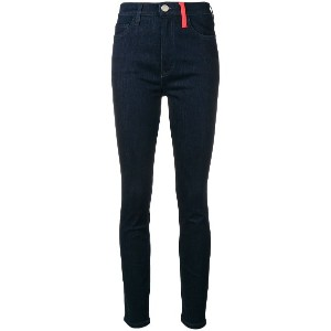 Current/Elliott high-rise skinny jeans - ブルー