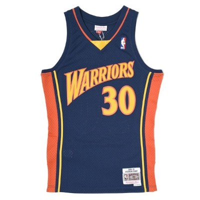 【送料無料】MITCHELL & NESS SWINGMAN JERSEY WARRIORS 09-10 #30 CURRY【353JA3101FGYSCU-NAVY】