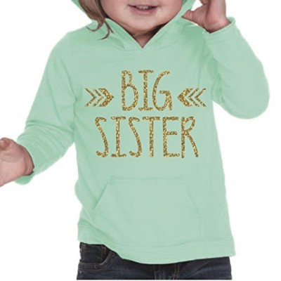 Big Sister Shirt, Baby Girl Clothes, Pregnancy Announcement (24 Months, Ice Green) by Bump and...