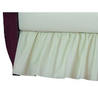 American Baby Company 100% Cotton Percale Ruffle Crib Skirt, Celery by American Baby Company [並行輸入品]
