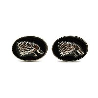 TeriのブティックのHouse Stark Wolf Head Game Of Thrones Love Mens Cufflinks w /ギフトボックス