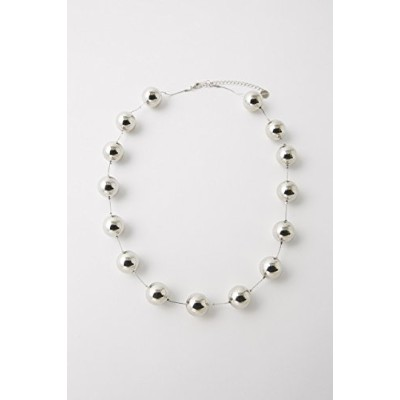(マウジー) moussy BALL NECKLACE 010BSS50-0970 FREE シルバー
