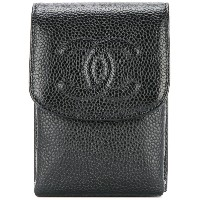 Chanel Vintage CC cigarette case - ブラック