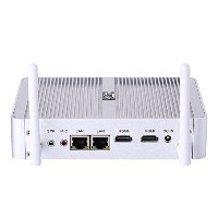 Desktop Computer Fanless Mini PC With Intel Quad Core N3150 Partaker B5 WiFi 300Mbps Barebone System